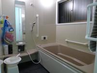 在来のお風呂をユニットバスに交換