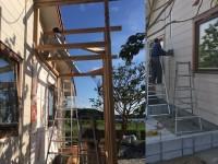増築建て方